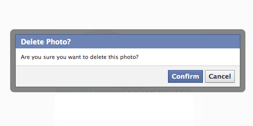 Facebook Photo Problems of the Day