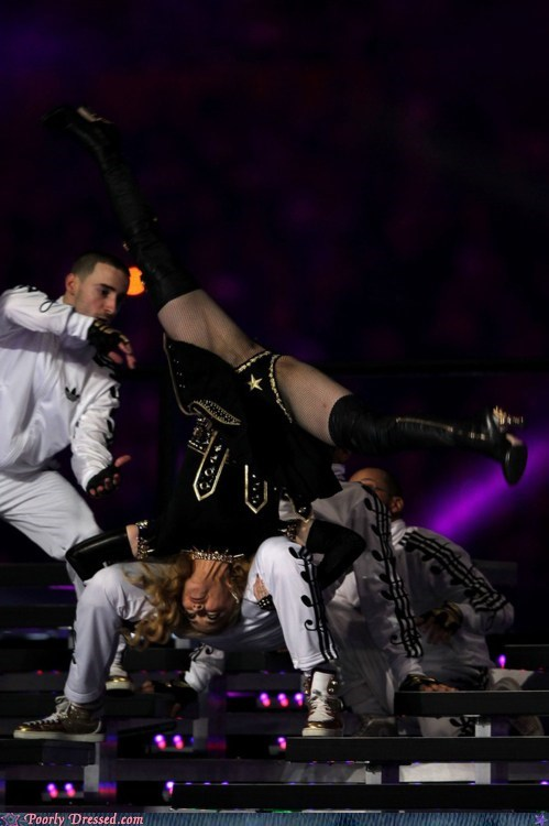 Madonna's Minor Wardrobe Malfunction