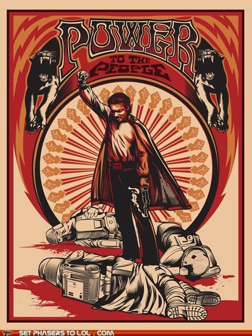 Billy Dee Williams,Lando Calrissian,people,power,rising,star wars,stormtrooper