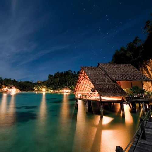 bungalow,getaways,Hall of Fame,indonesia,night,night photography,ocean,resort
