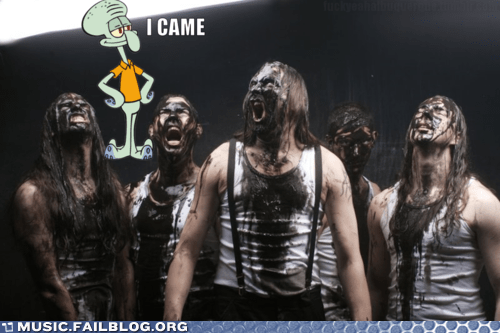brutal death metal,death metal,france,french,i came,metal,necroblaspheme,oil,SpongeBob SquarePants,squidward