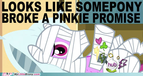 Never Break a Pinkie Promise
