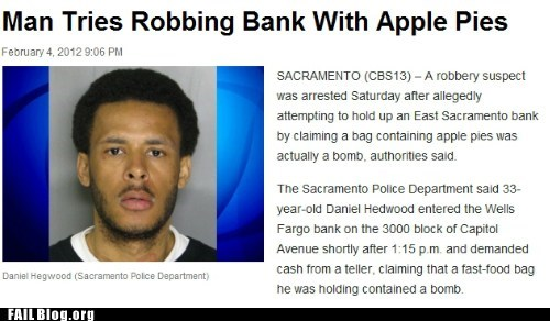 Probably bad News,stupid criminals,wtf