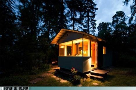 alone,cabin,hut,tiny,warm