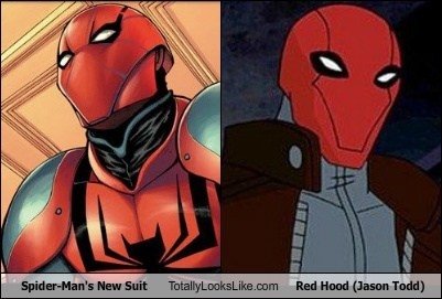 Spider-Man's New Suit Totally Looks Like Red Hood (Jason Todd)