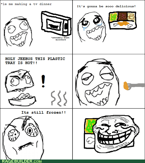 Rage Comics: Doesn't Matter, Had Something That Resembled Food