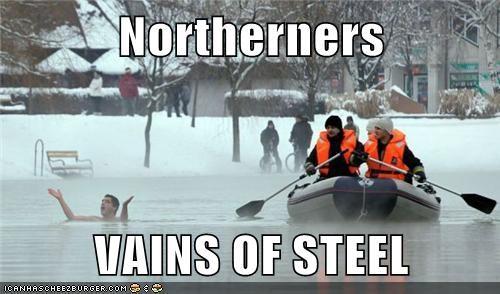 Northerners  VAINS OF STEEL