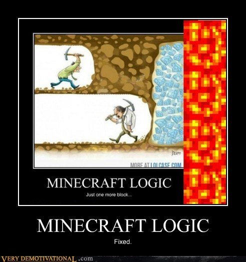 logic,lava,minecraft