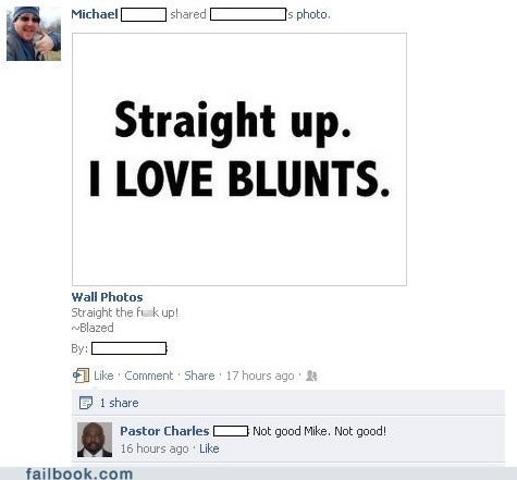 Awkward,blunts,busted,drugs,pastor,pot