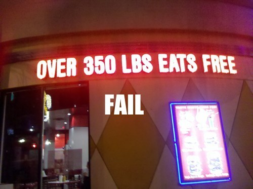 Encouraging a Healthy Diet FAIL