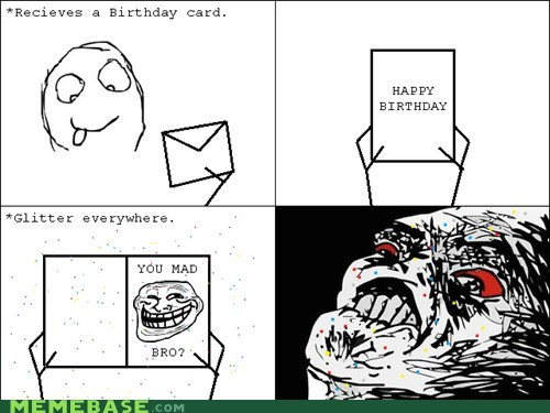 Rage Comics: For a Princess on Her Birthday!