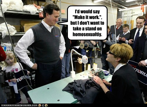 political pictures,project runway,Rick Santorum,sweatervests,Tim Gunn