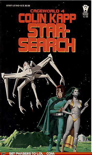 WTF Sci-Fi Book Covers: Star-Search