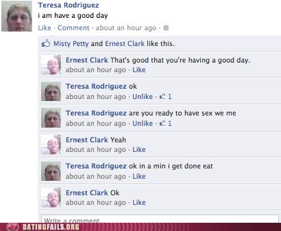 facebook,grammar,sexy times,status update