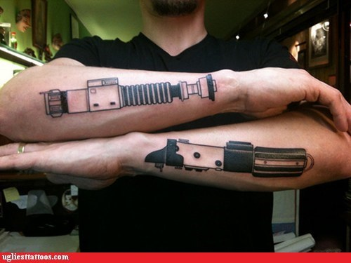 Lightsaber Tattoos, Episode III