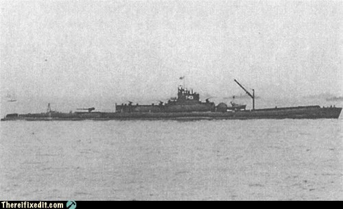 Historical Thursday: The Underwater Aircraft Carrier