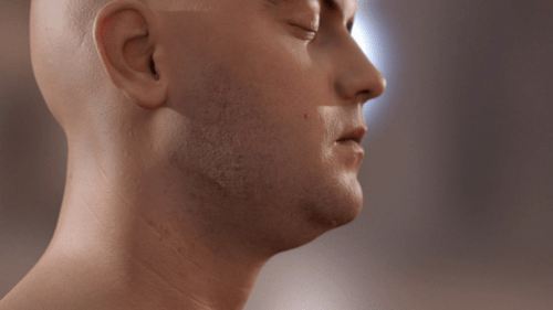 Realistically-Rendered Human Skin of the Day