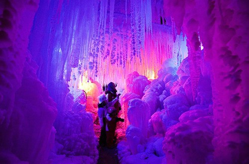 europe,getaways,Hall of Fame,ice,ice palace,ice sculpture,Switzerland,vivid colors
