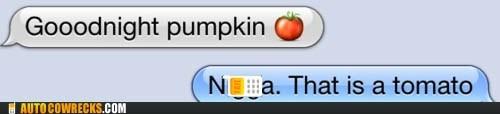 dating,emoji,goodnight,ninja,pumpkins,relationships,tomato