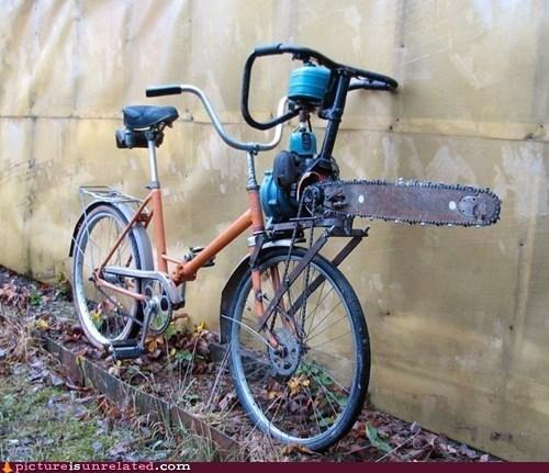 I Have to Fix My Bike Chain(saw)