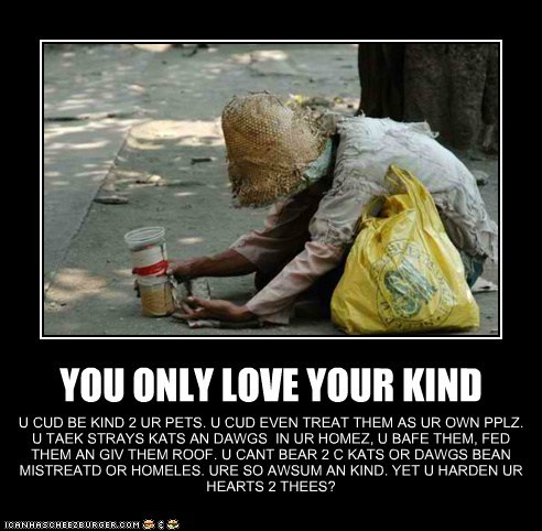 YOU ONLY LOVE YOUR KIND