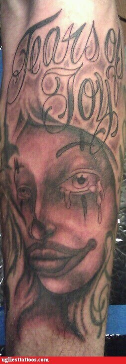 clown face,creepy,not the same,tears of joy,weeping blood