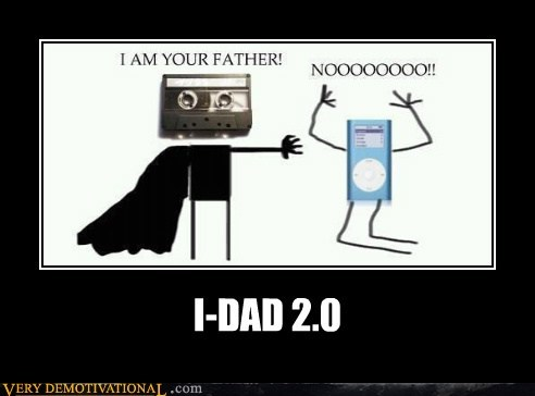 Father,hilarious,mp3,star wars,tape
