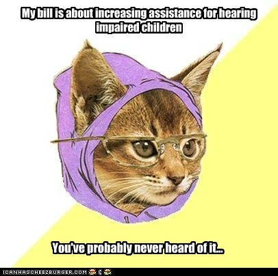 Hipster Kitty: Neither Have Those Poor Children :(