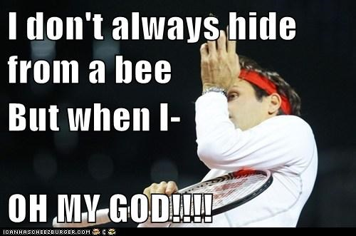 The Most Cowardly Tennis Player in the World