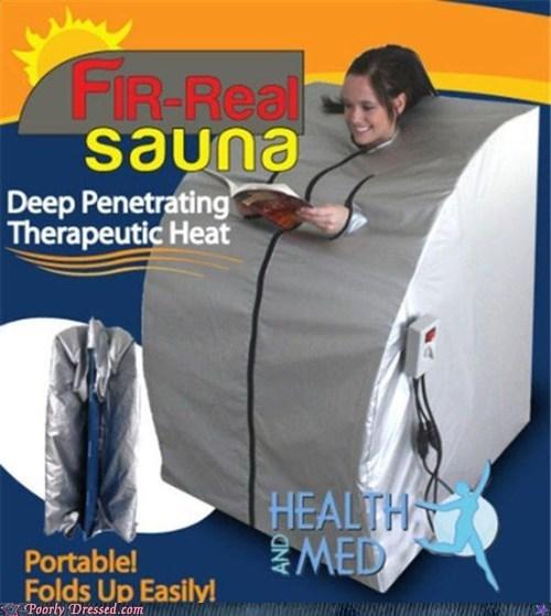 Heat,real,sauna,wait what