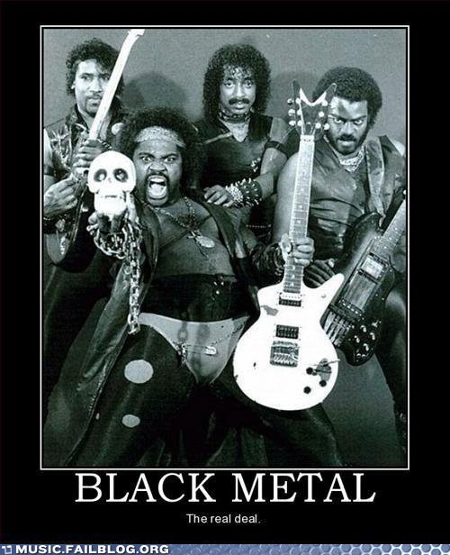 That's AFRICAN-AMERICAN Metal
