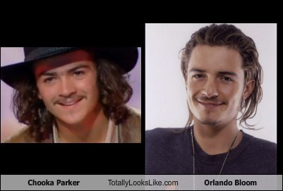 Chooka Parker Totally Looks Like Orlando Bloom