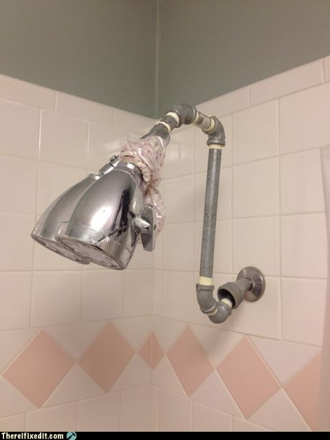 His and Hers Shower Head