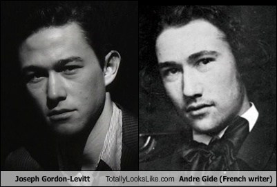 Joseph Gordon-Levitt Totally Looks Like Andre Gide (French writer)