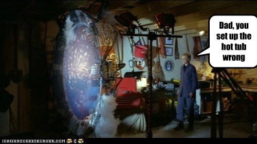 amanda tapping,dad,hot tub,samantha carter,Stargate,Stargate SG-1,wrong