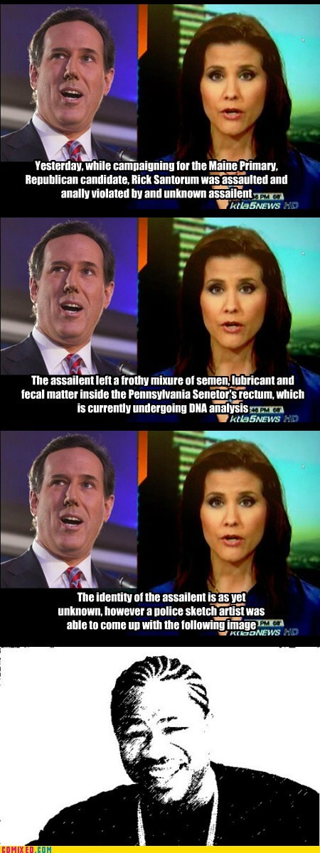 Yo Dawg, I Heard You Like Santorum