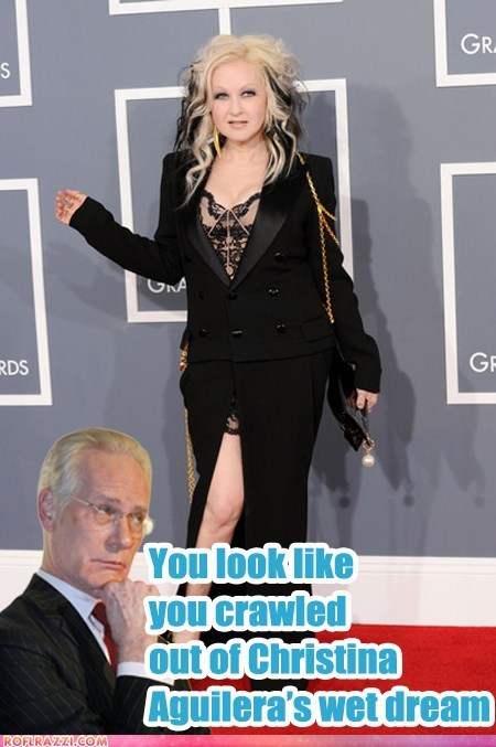 Cyndi Lauper Arrives At The Grammys