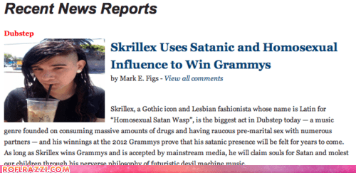 Accurate Skrillex Report Is ACCURATE
