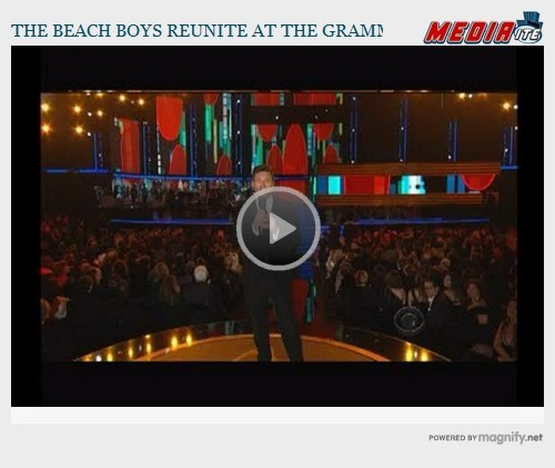 Grammys: The Beach Boys Reunite