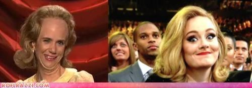adele,grammy awards,Grammys,kristen wiig,look alikes,SNL