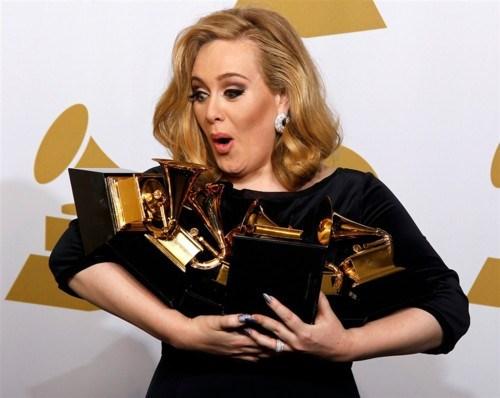 Grammys: Adele Rolling Six Deep