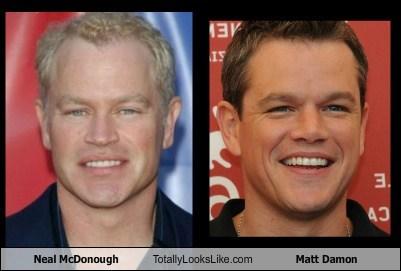 Neal McDonough Totally Looks Like Matt Damon