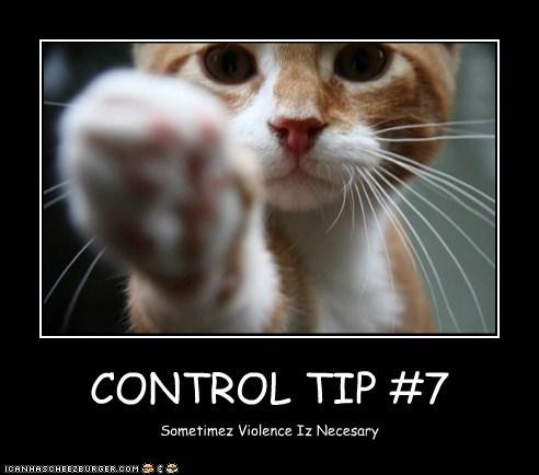 CONTROL TIP #7