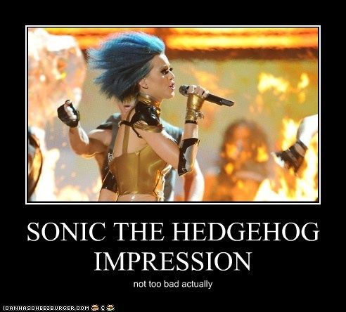 SONIC THE HEDGEHOG IMPRESSION