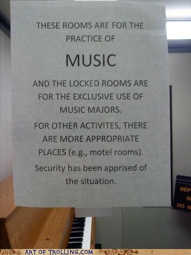This One Time, In Band Class