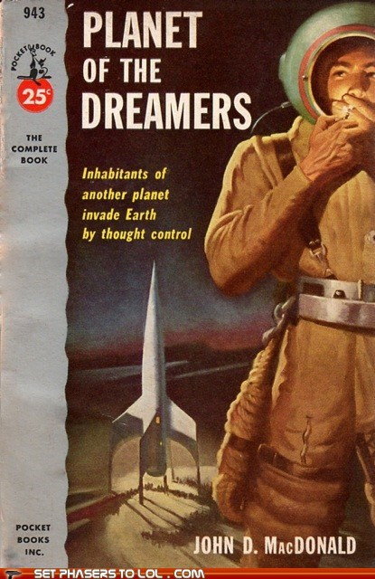 WTF Sci-Fi Book Covers: Planet of the Dreamers