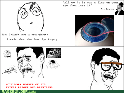 Rage Comics: So, What's This I Hear About Contacts?