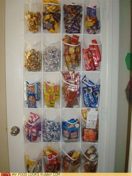 cabinet,closet,genius,organized,snacks