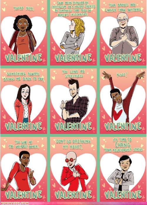 art,community,funny,holiday,TV,Valentines day