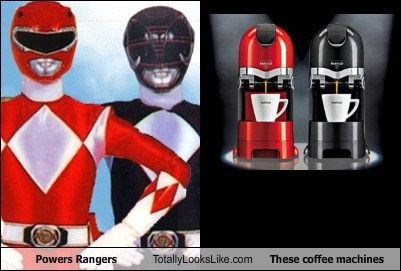 Powers Rangers Totally Looks Like These Coffee Machines